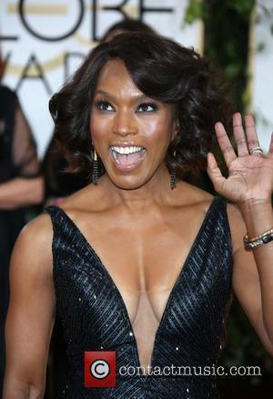 Angela Bassett - 71st Annual Golden Globe Awards held at The Beverly Hilton Hotel  - Red Carpet Arrivals -...
