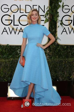 Caitlin Fitzgerald - 71st Annual Golden Globe Awards held at The Beverly Hilton Hotel  - Red Carpet Arrivals -...