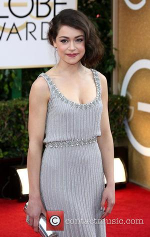 Tatiana Maslany - 71st Annual Golden Globe Awards held at The Beverly Hilton Hotel  - Red Carpet Arrivals -...