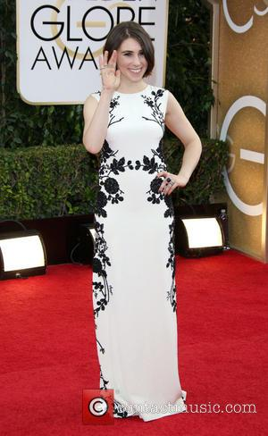 Zosia Mamet - 71st Annual Golden Globe Awards held at The Beverly Hilton Hotel  - Red Carpet Arrivals -...