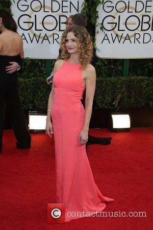 Kyra Sedgwick - 71st Annual Golden Globe Awards held at the Beverly Hilton Hotel - Arrivals - Los Angeles, California,...