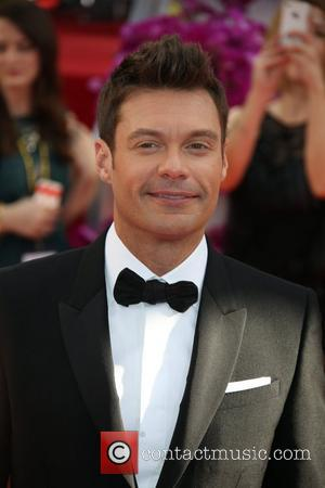 Ryan Seacrest - 71st Annual Golden Globe Awards held at the Beverly Hilton Hotel - Arrivals - Los Angeles, California,...