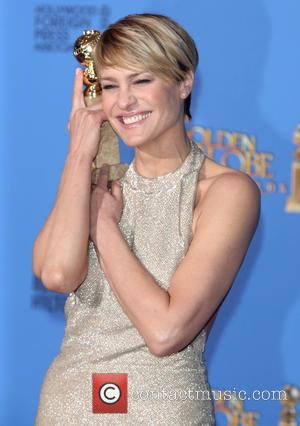Robin Wright - 71st Annual Golden Globes - Press Room - Los Angeles, California, United States - Sunday 12th January...