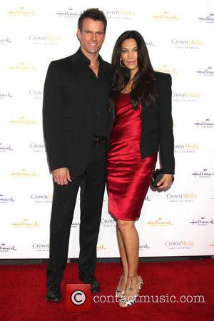 Cameron Mathison and Vanessa Arevalo - Hallmark Television Critics Association Winter 2014 Party at the historic Huntington Library - San...