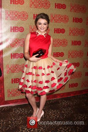 Maisie Williams - HBO Golden Globe Awards 2014 After Party held at Circa 55 - Red Carpet Arrivals - Beverly...