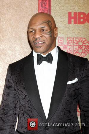 Mike Tyson - HBO Golden Globe Awards 2014 After Party held at Circa 55 - Red Carpet Arrivals - Beverly...