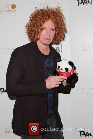 Carrot Top - Panda! World Premiere Event at The Venetian - The Palazzo Las Vegas - Las Vegas, Nevada, United...