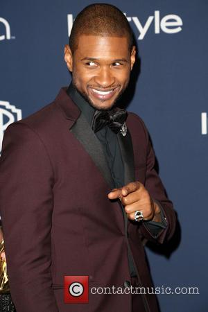Usher - 15th Annual Warner Bros and InStyle Golden Globe Awards After Party - Arrivals held at the Oasis Courtyard...