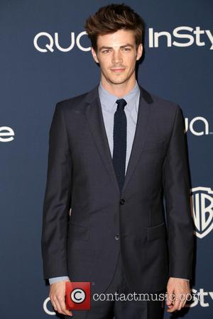 Grant Gustin - Celebrities attend the 15th Annual Warner Bros And InStyle Golden Globe Awards After Party - Arrivals held...