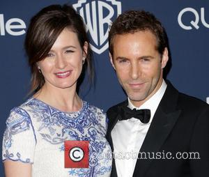 Emily Mortimer and Alessandro Nivola - Celebrities attend the 15th Annual Warner Bros And InStyle Golden Globe Awards After Party...
