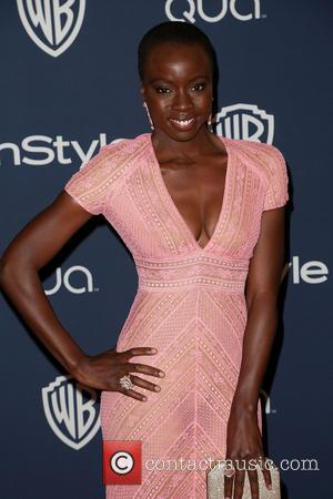 Danai Gurira - Celebrities attend the 15th Annual Warner Bros And InStyle Golden Globe Awards After Party - Arrivals held...