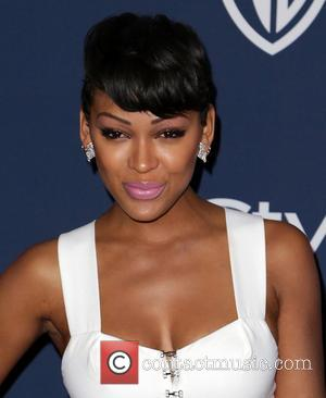 Meagan Good - Celebrities attend the 15th Annual Warner Bros And InStyle Golden Globe Awards After Party - Arrivals held...