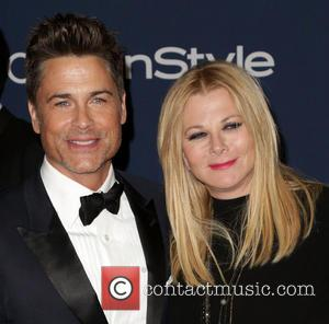Rob Lowe and Sheryl Berkoff - Celebrities attend the 15th Annual Warner Bros And InStyle Golden Globe Awards After Party...