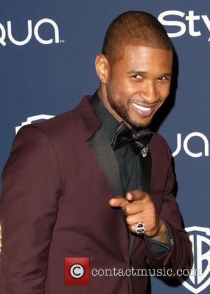 Usher - Celebrities attend the 15th Annual Warner Bros And InStyle Golden Globe Awards After Party - Arrivals held at...