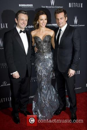 Michael Sheen, Kate Beckinsale and Len Wiseman - The Weinstein Company & Netflix 2014 Golden Globes After Party held at...