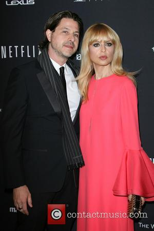Rachel Zoe and husband Rodger Berman - The Weinstein Company & Netflix 2014 Golden Globes After Party held at The...