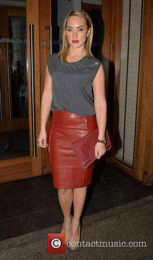 Kathryn Thomas - Guests arrive at Smashbox Influence private dinner at Fade Street Social... - Dublin, Ireland - Monday 13th...