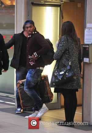 Daniel Sturridge - Liverpool football players and their partners leaving Liverpool Lime Street station for London. The team were heading...