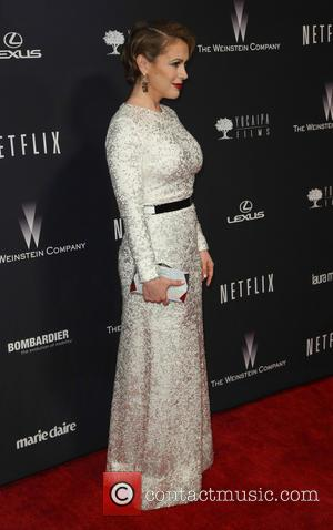 Alyssa Milano - The Weinstein Company & Netflix 2014 Golden Globes After Party at The Old Trader Vic's at the...