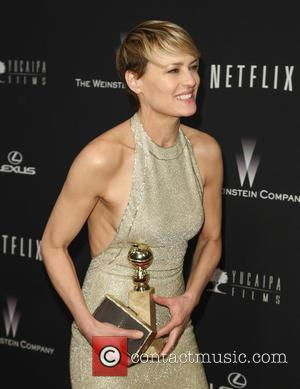 Robin Wright - The Weinstein Company & Netflix 2014 Golden Globes After Party at The Old Trader Vic's at the...