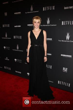 Ambyr Childers - The 71st Annual Golden Globe Awards - Weinstein Party  at The Beverly Hilton Hotel - Los...