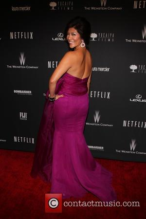 Julie Chen - The 71st Annual Golden Globe Awards - Weinstein Party  at The Beverly Hilton Hotel - Los...