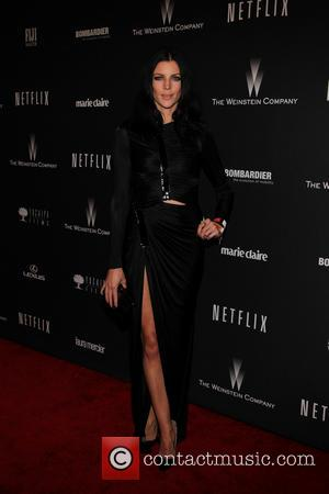 Liberty Ross - The 71st Annual Golden Globe Awards - Weinstein Party  at The Beverly Hilton Hotel - Los...