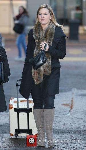 Jo Joyner - Jo Joyner outside the ITV studios - London, United Kingdom - Monday 13th January 2014