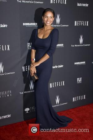 Joy Bryant - The Weinstein Company & Netflix 2014 Golden Globes After Party held at The Beverly Hilton Hotel in...