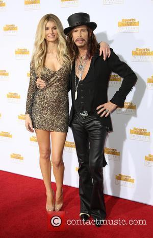 Marissa Miller and Steven Tyler