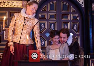 Gemma Arterton, Sarah MacRae and Alex Waldman - 'The Duchess of Malfi' photocall held at the Sam Wanamaker Playhouse. -...
