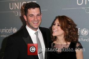 David Bugliari and Alyssa Milano