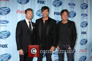 Ryan Seacrest, Harry Connick Jr and Keith Urban
