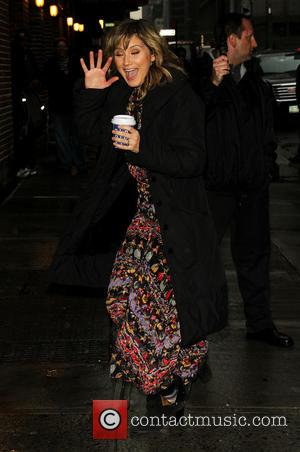 Jennifer Nettles - 'The Late Show with David Letterman' at the Ed Sullivan Theater - Arrivals - New York, New...