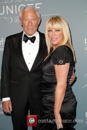 Alan Hamel and Suzanne Somers - 2014 UNICEF Ball presented by Baccarat at the Beverly Wilshire Hotel Four Seasons Hotel...