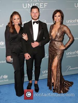 Leah Remini, Val Chmerkovskiy and Cheryl Burke - 2014 UNICEF Ball presented by Baccarat at the Beverly Wilshire Hotel Four...