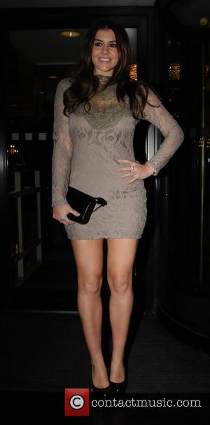 Imogen Thomas - Nordoff Robbins Rugby dinner at The Grosvenor House Hotel - Arrivals - London, United Kingdom - Wednesday...