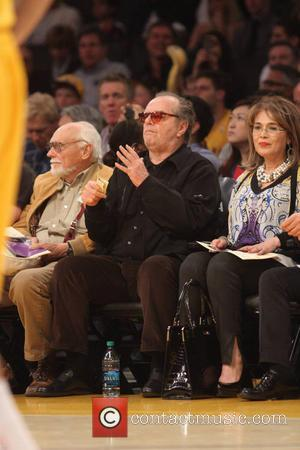 Jack Nicholson - Celebrities watch the Cleveland Cavaliers v Los Angeles Lakers at the Staples Center. Cleveland defeated Los Angeles...