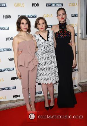 Zosia Mamet, Lena Dunham and Allison Williams