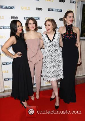 Lena Dunham, Zosia Mamet, Jenni Konner and Allison Williams