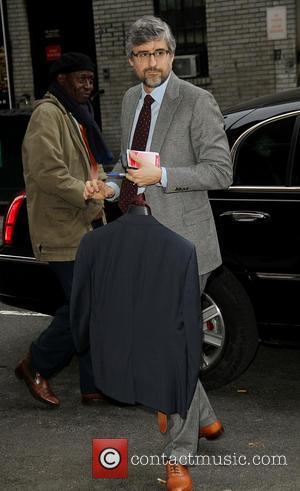 David Letterman and Mo Rocca