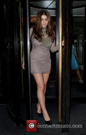 Imogen Thomas - Nordoff Robbins Rugby dinner at The Grosvenor House Hotel - London, United Kingdom - Wednesday 15th January...