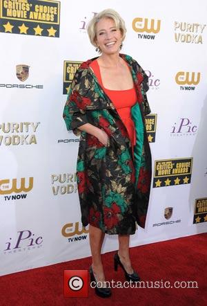 Emma Thompson - The 19th Annual Critics' Choice Movie Awards at the Barker Hangar - Arrivals - Los Angeles, California,...