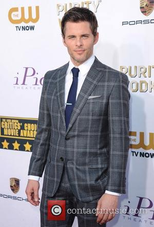 James Marsden - The 19th Annual Critics' Choice Movie Awards at the Barker Hangar - Arrivals - Los Angeles, California,...