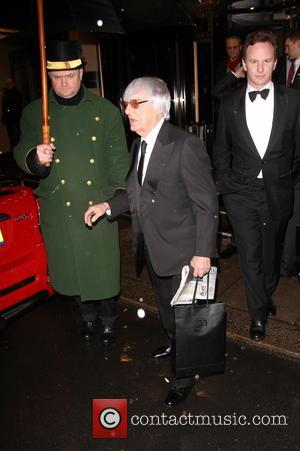 Bernie Ecclestone - Bernie Ecclestone was spotted carrying a newspaper article about himself as he leaves the Dorchester Hotel -...