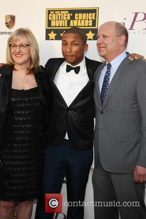 Janet Healy, Pharrell Williams and Christopher Meledandri