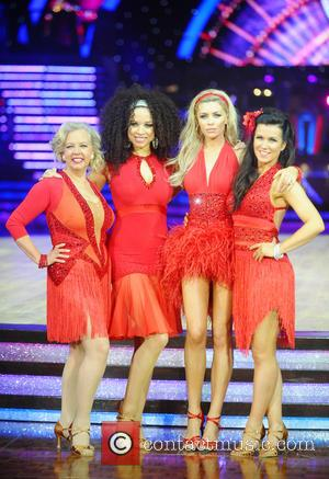 Abbey Clancy, Susanna Reid and Natalie Gumede