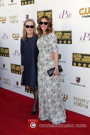 Meryl Streep and Julia Roberts