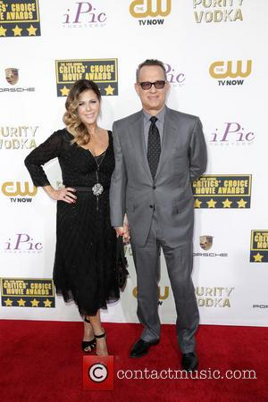 Rita Wilson and Tom Hanks - Celebrities attend the 19th Critics' Choice Movie Awards Ceremony LIVE on The CW Network...