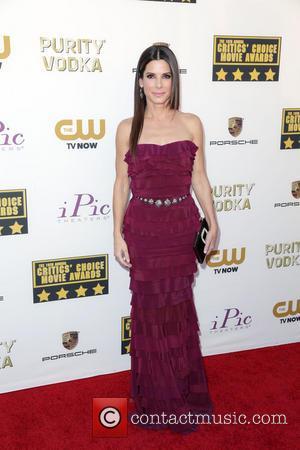Sandra Bullock Curses Critics Choice Blunder